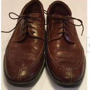 Johnston & Murphy Leather Lace Up Oxford Shoes